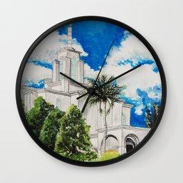 Bogota Columbia LDS Temple Wall Clock