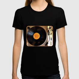 Vintage Pioneer Turntable T-shirt