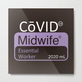 Essential Midwife Metal Print