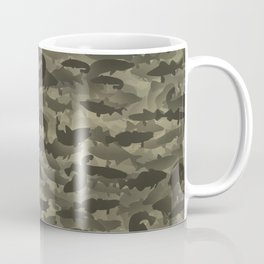 Fresh water fish camouflage Coffee Mug
