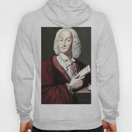 Antonio Vivaldi (1678-1741) by Morellon de la Cave in 1725 Hoody
