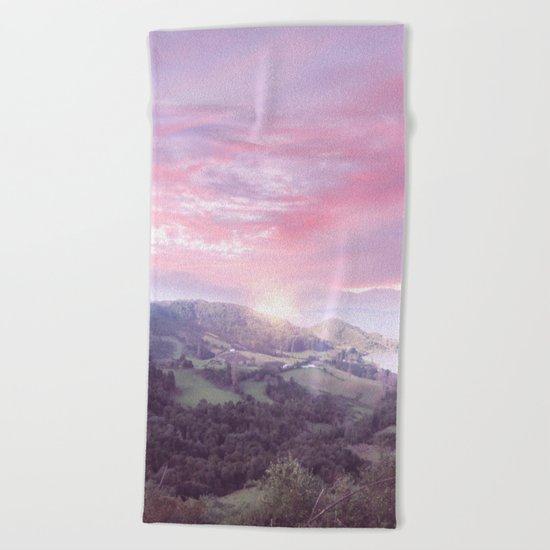 Pastel vibes 24 Beach Towel