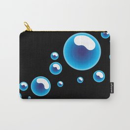 Bubbles. Carry-All Pouch