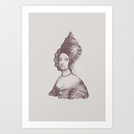 Haute Coiffure  /#6 Art Print