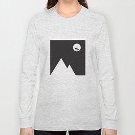 ABSTRACT_02_ THE NIGHT Long Sleeve T-shirt