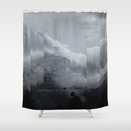 Fractions 00 Shower Curtain