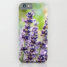 Lavender Flowers #1 #floral #art #society6 iPhone Case