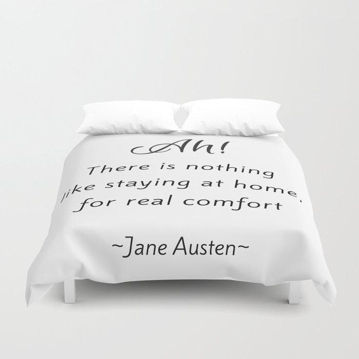 Jane Austen - Home Duvet Cover
