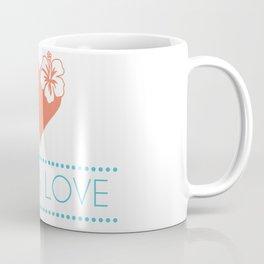 Aloha Love Coffee Mug