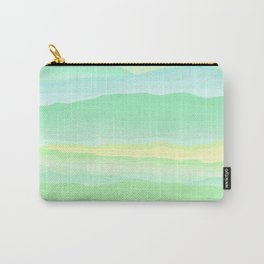 Mint Aqua Rolling Hills Carry-All Pouch