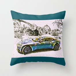 Travel In Style Collection Throw Pillow