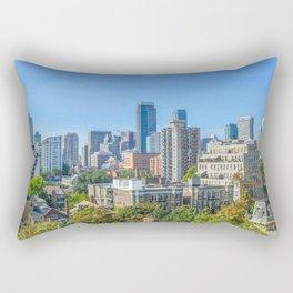 Toronto condo buildings. Rectangular Pillow