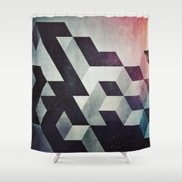 spyce ryce Shower Curtain