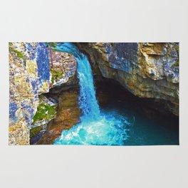 Stanley Waterfall & Beauty Creek, Jasper National Park Rug