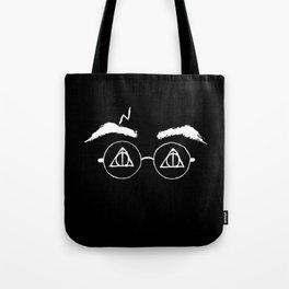 Horcrux White Potter Tote Bag