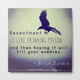 Resentment Metal Print