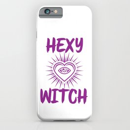 Hexy Witch iPhone Case