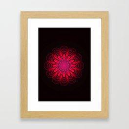 Riveting Rose Framed Art Print