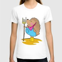 farm T-shirts featuring Farm life by mangulica