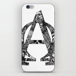 Alpha/Omega iPhone Skin