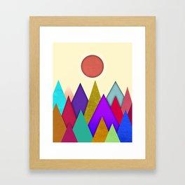 Abstract #514 Framed Art Print