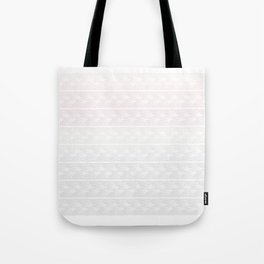 Ombre Pastel Lace Tote Bag