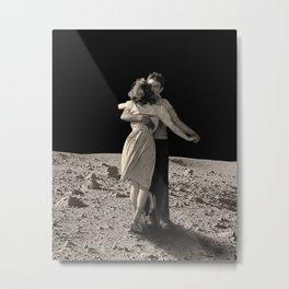Give Me The Moon Metal Print
