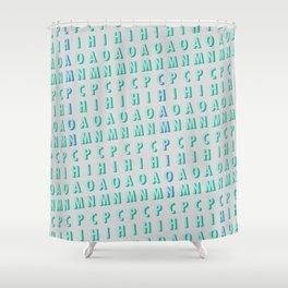 Champion - Typography Shower Curtain