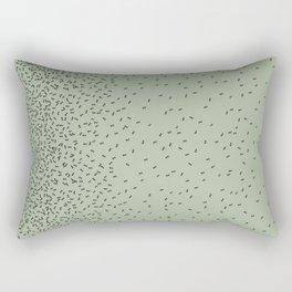 ANTS GREEN (BIG RUG) Rectangular Pillow