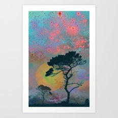 Dream Forest Art Print