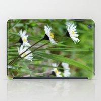 daisies iPad Cases featuring Daisies by Lynn Bolt