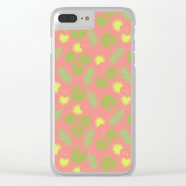 Tropical Tyme Clear iPhone Case