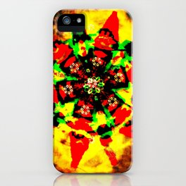 Tribal colors iPhone Case