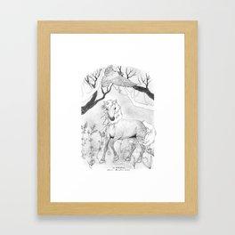 Sa Bhflaitheas Framed Art Print
