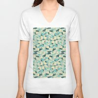 prism V-neck T-shirts featuring Prism by Creo