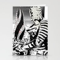 dead space Stationery Cards featuring Dead Space by Averagejoeart