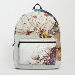 Abstract Geometric 10 Backpack