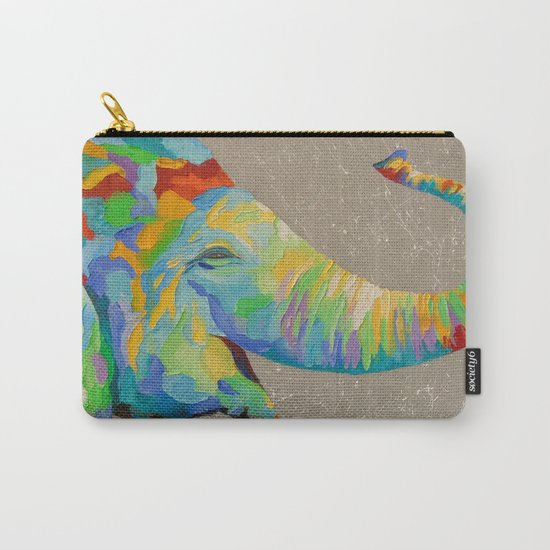 Smiling elephant  Carry-All Pouch