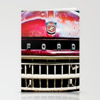 ford Stationery Cards featuring Old Ford by Kim Ramage