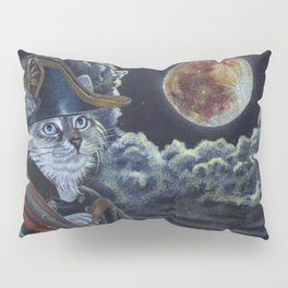 Sea Captain Cat Pillow Sham
