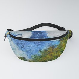 Blue Sky and Pines PhotoArt Fanny Pack