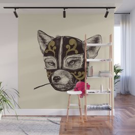 The Mask of Zorro Luchador Wall Mural