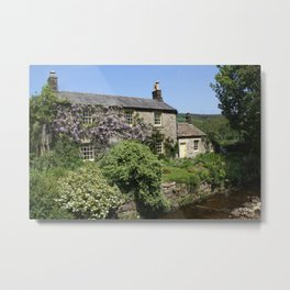 A Chocolate Box Cottage Metal Print
