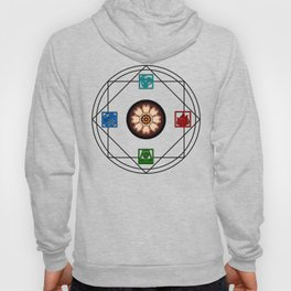 Elemental White Lotus - ATLAS Hoody