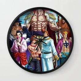 Whitebeard Pirates - one piece Wall Clock