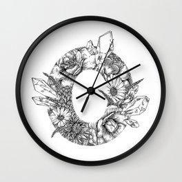Camellia Zero Wall Clock