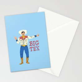 BIG TEX Stationery Cards