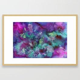 Aurora Seaworld Party Framed Art Print