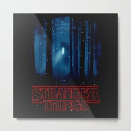 Strange Things Series Metal Print