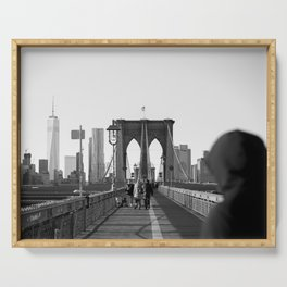 Brooklyn Bridge Serving Tray